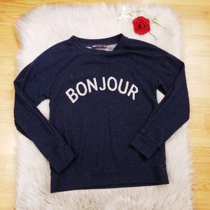M & S Collection Soft Sweater Small Bonjour Small
